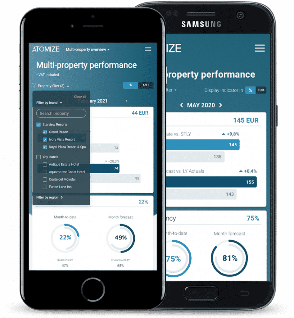Multi Property Support mobile